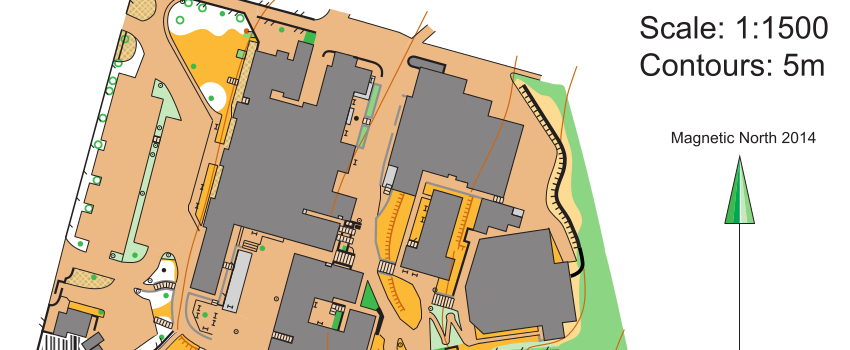 Orienteering Mapping for Schools