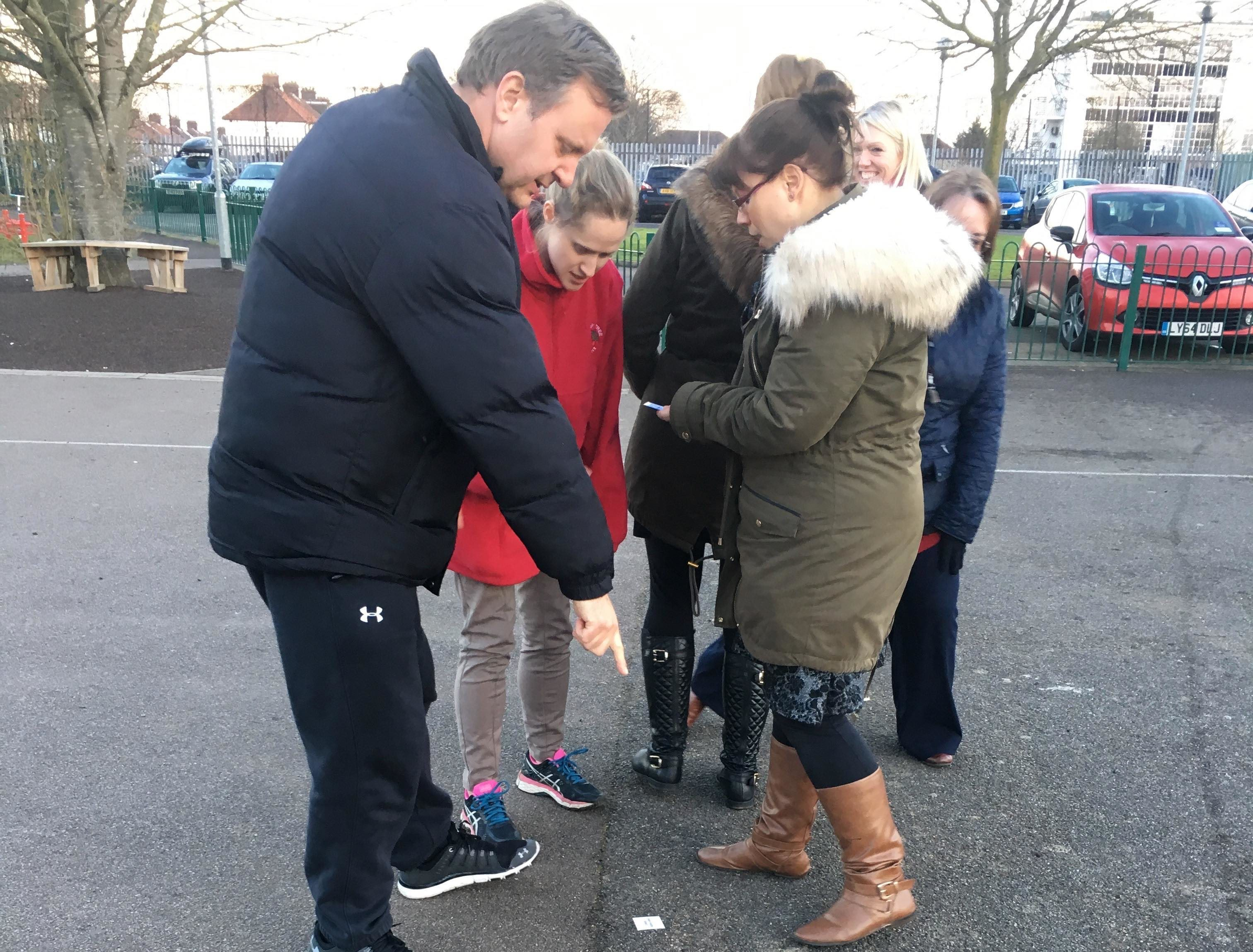 Watford school trains teachers in Orienteering